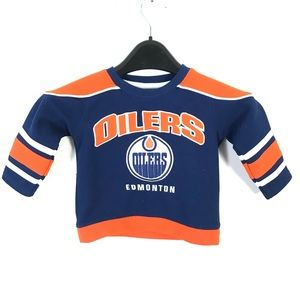 Oilers NHL baby jersey